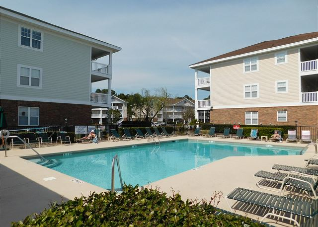 Pool Area at Cypress Bend