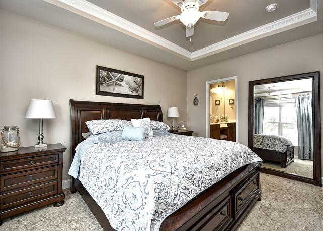Master BR King Bed