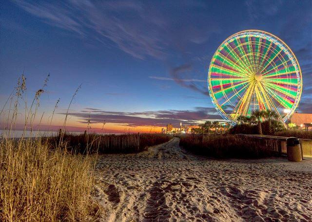 Skywheel In Myrtle Beach