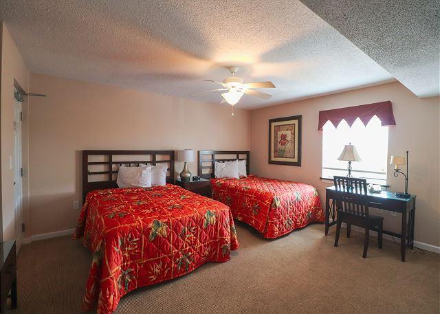 Bedroom 2 with 2 Queens