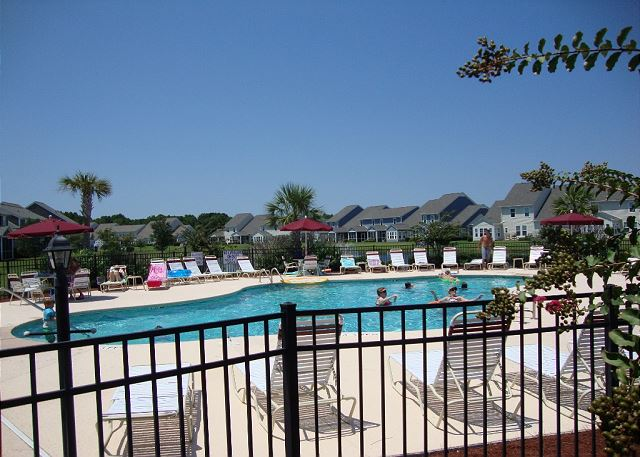Pool Area at Egret Run