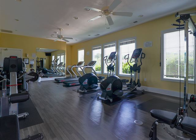Exercise Room at Edgewater