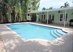 Key Lime Casa Hollywood 5/3 for 10 Heated Pool, 10 Mins to Beach
