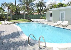Hollywood 5/3 for 12 Heated Pool New Near Beach 1438