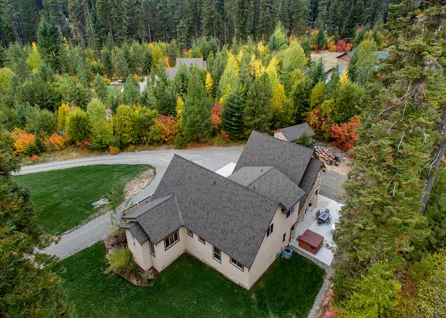 Cascade Mtn Villa from above!