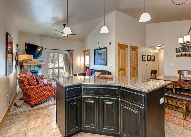 Open, Spacious and Bright - Living/Kitchen/Dining Areas