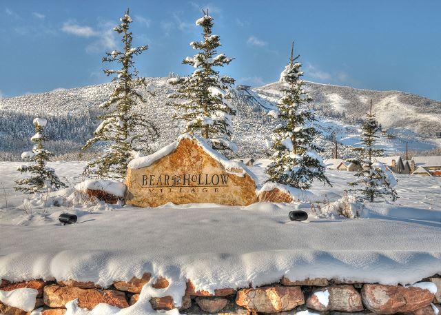 Bear Hollow Village Winter