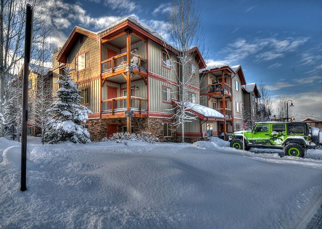 Bear Hollow Lodges Winter, Park City, Utah