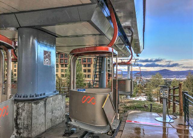 Canyons Resort Cabriolet Ski Lift