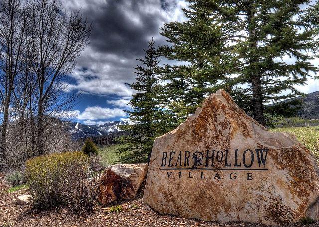 Bear Hollow Village Entry