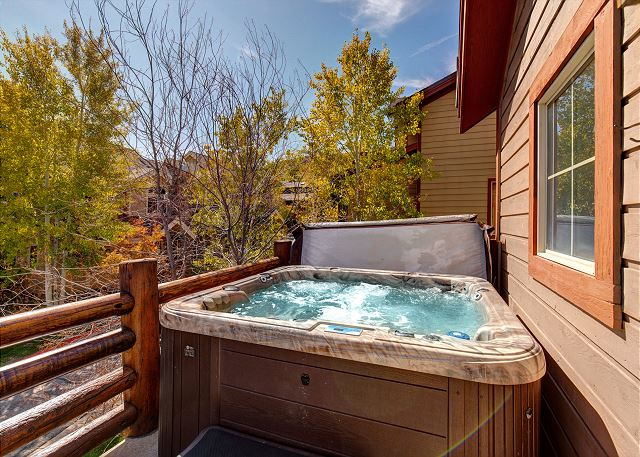 Private Hot Tub on Upper Balcony