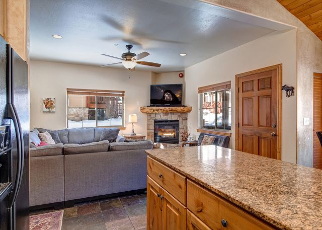 Main Level - Open Living, Kitchen and Dining Areas - Perfect for Gathering Together!