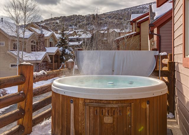 Private Hot Tub - Upper Balcony