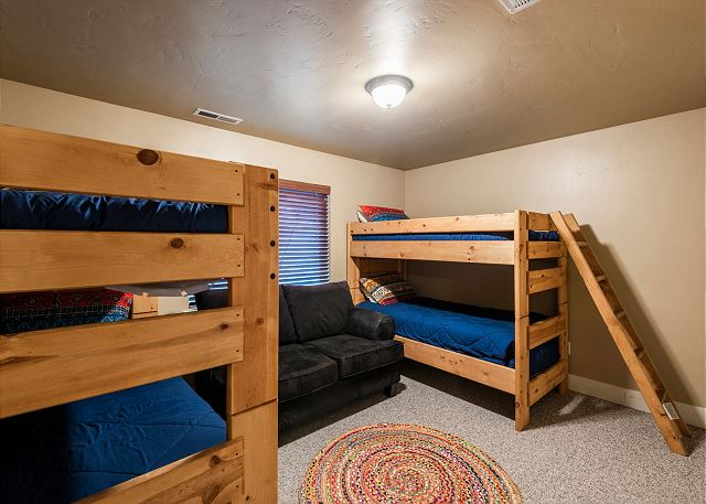 Downstairs Bunkbeds