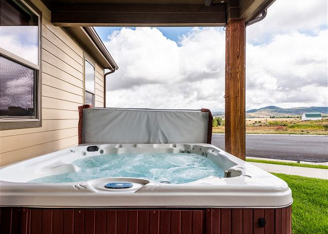 Personal and Private Hot Tub