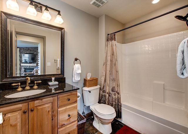 Guest Bathroom - tub/shower combination