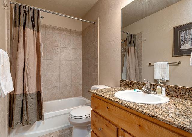 Main Shared Bathroom - Tub/Shower Combo