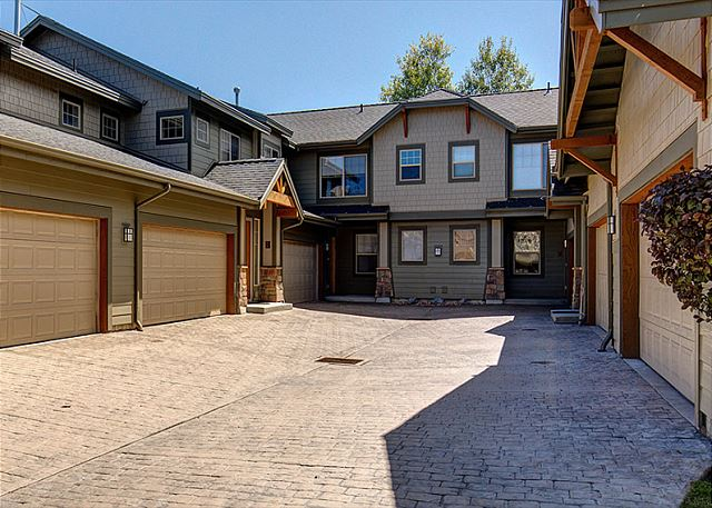 Common Driveway with Private Entrance and Private One-Car Garage