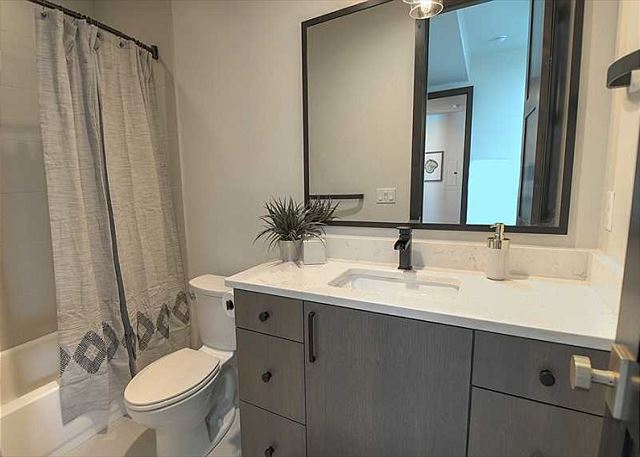 Lower Level Queen En Suite Bathroom