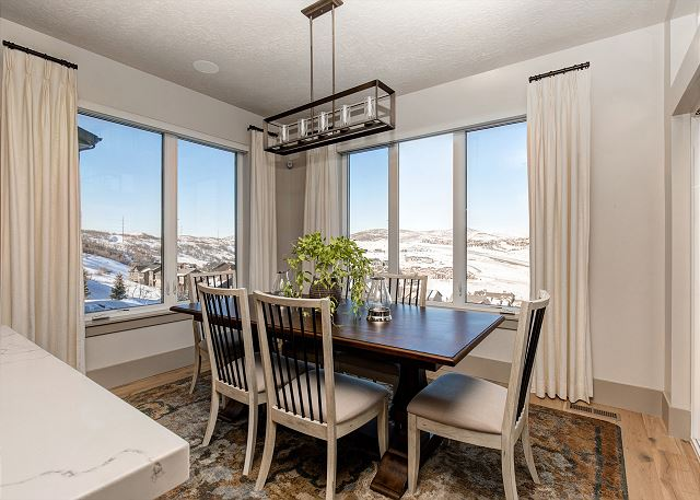 Dining Area with Views!