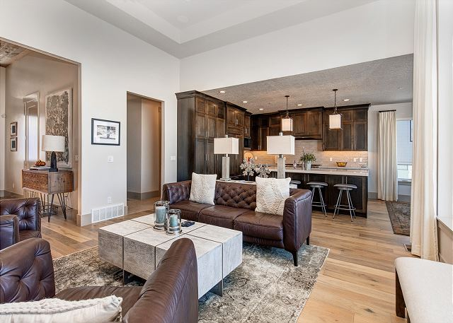 Living Room/Kitchen/Dining - Perfect Open Space for Gathering!