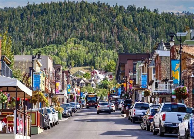 Down on Main Street - Park City, Utah