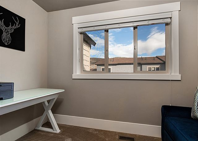 Small Room/Office just off Master Bedroom Upstairs - This room has a desk, printer and Twin Sleeper