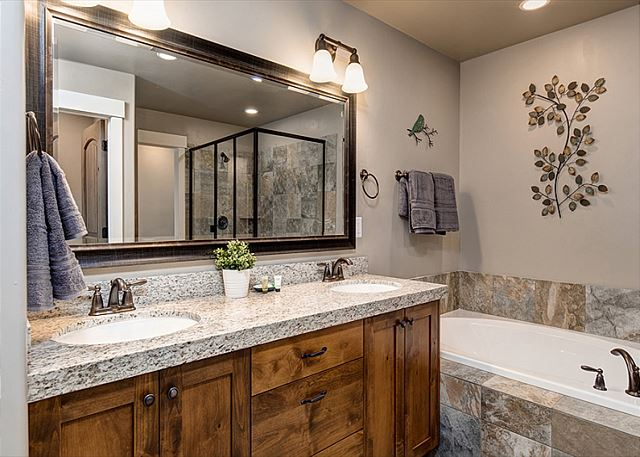 Master Bathroom - Separate Tub and Shower