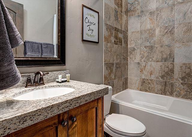 Main Level Shared Bathroom