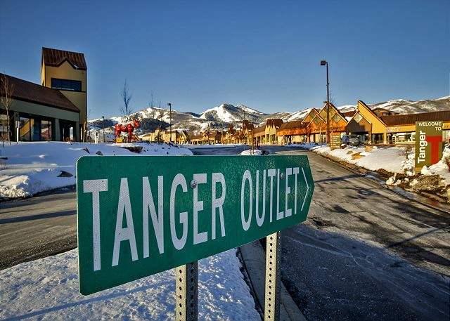 Visit the Tanger Outlet Mall in Park City for great shopping and deals