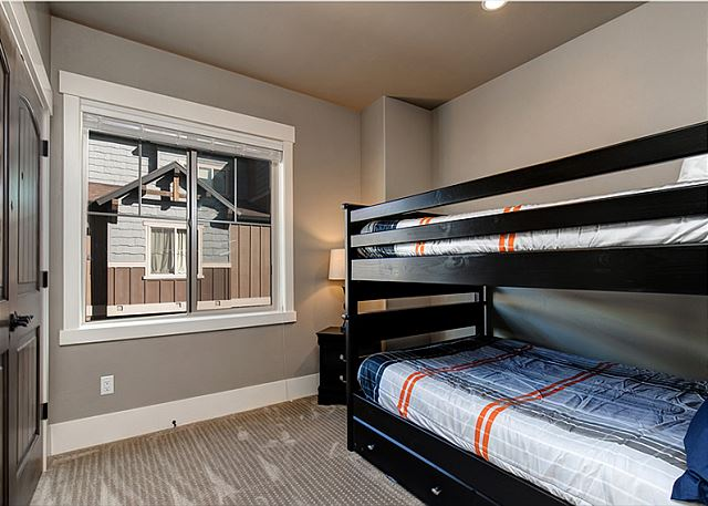 Main Level Bunk Room - Full over Full with Twin Trundle