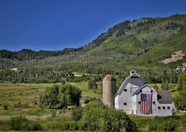 "The McPolin Farm - ""The White Barn"" - Historic Park City, Utah"