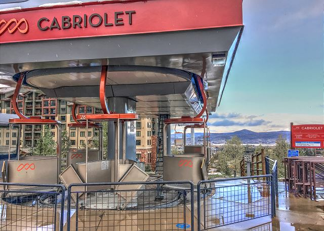 Ride the Cabriolet Lift to the Canyons, Park City