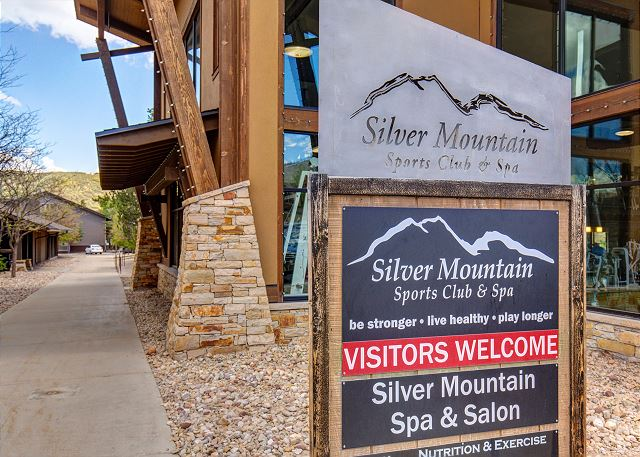 Silver Mountain Sports Club is Next Door to the Prospector condos and Offers Fitness, Pool, Classes and More