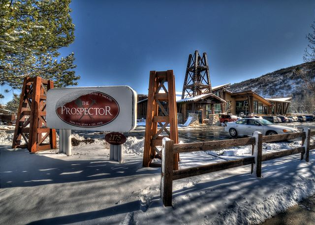 Winter at the Prospector Condos, Park City, UT
