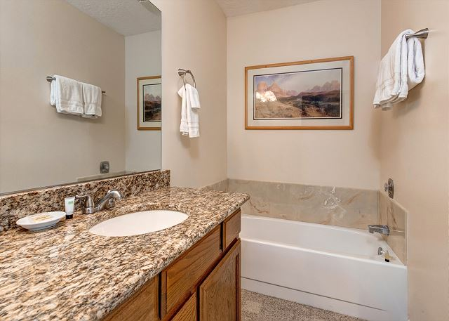 En Suite Master Bathroom with Separate Tub and Shower