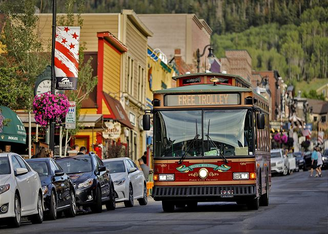 Ride the FREE Trolley or Stroll Down Main Street for Perfect Aft