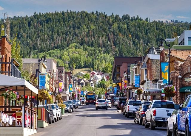 Down on Main Street - Park City Summertime