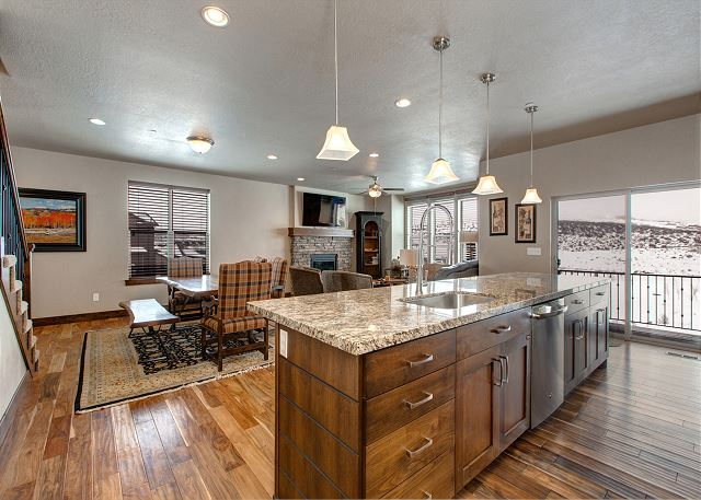 Spacious Kitchen/Dining/Living Area - Perfect for Gathering Together