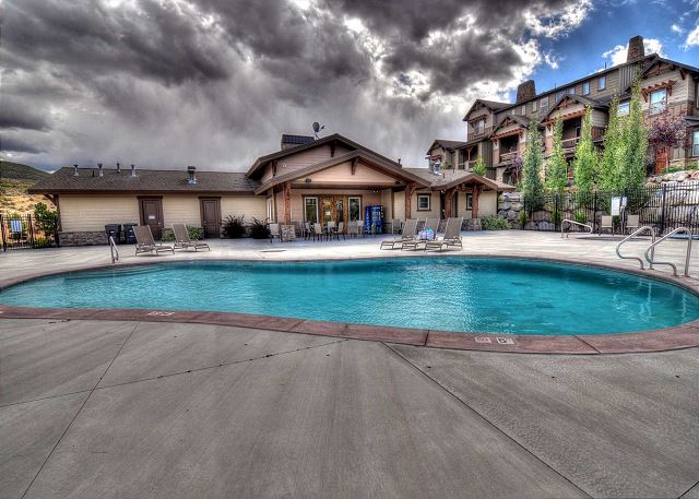 Clubhouse Poolside