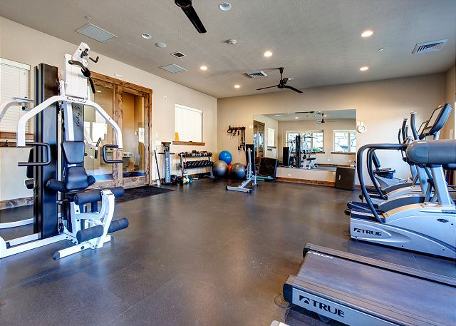 Retreat Clubhouse Fitness Room