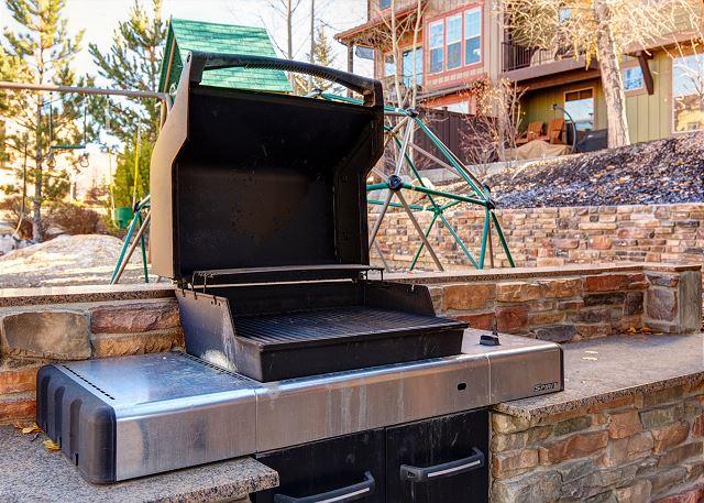 Retreat Community BBQ Area