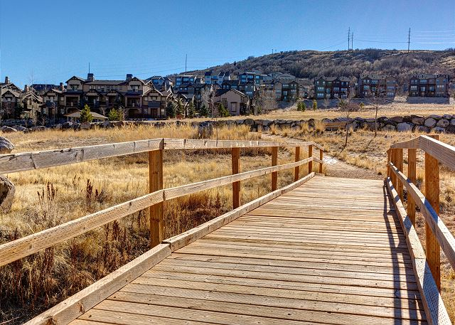 Neighborhood walking trails