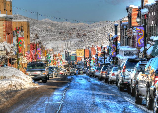 Historic Main Street Park City Utah