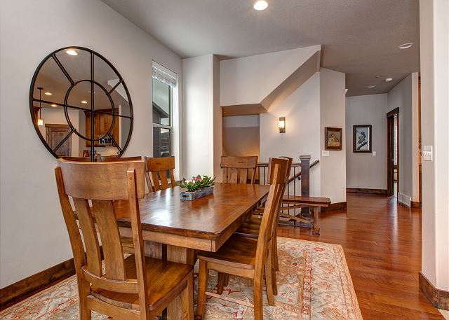 Dining Table: Seats 6