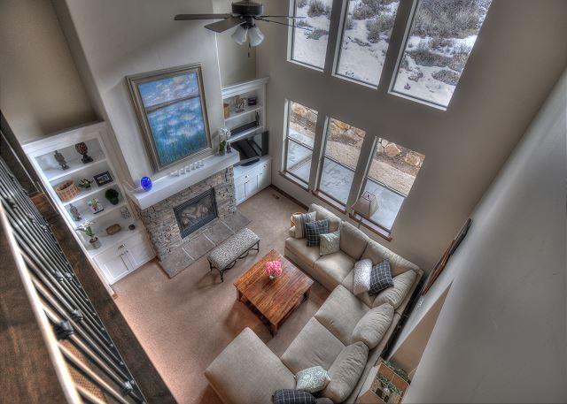 Living Room Loft View
