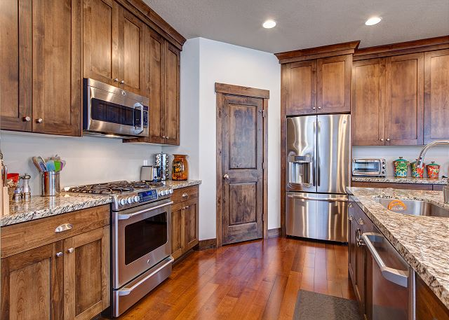 Fully Equipped Kitchen: With all the tools for a chef-style meal