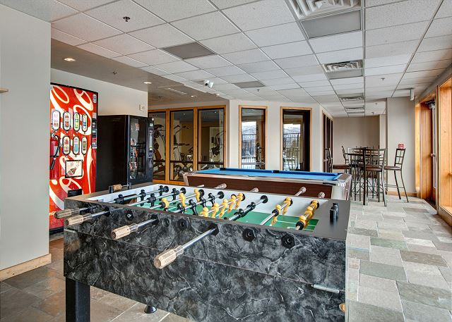 Stillwater Lodge Game Room