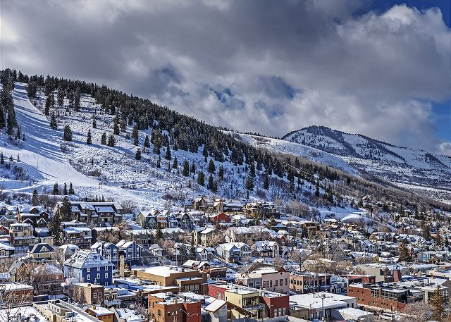 The Gorgeous Town of Park City Utah in the Wintertime