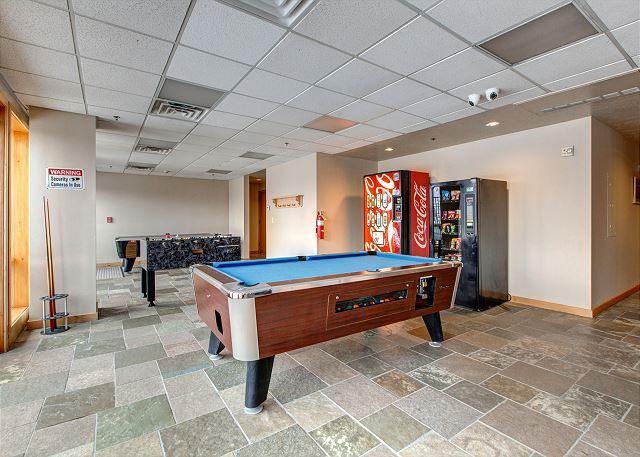 The Stillwater Lodge Game Room